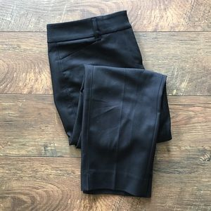White House Black Market Straight Crop Ankle Pants